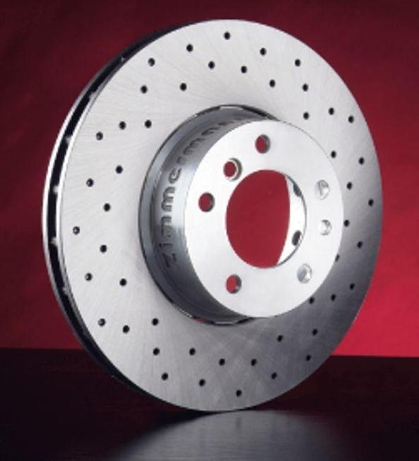 Перфорируемый тормозной диск